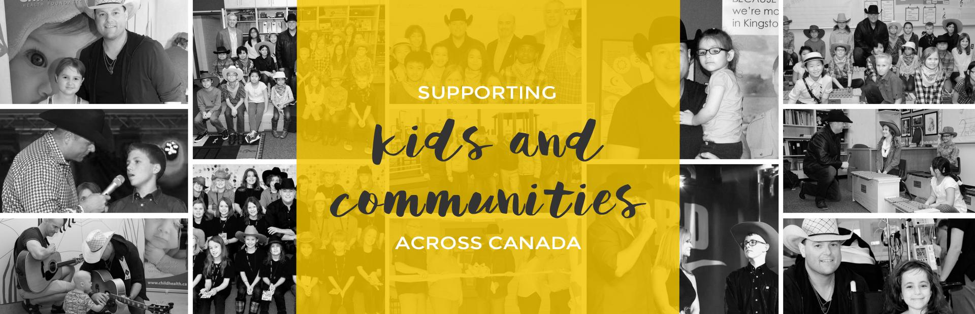 Gord Bamford Foundation supports kids